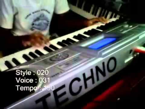 ABG Tua Versi Keyboard Techno T9800i
