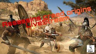 PS4 Deutsch | Assassin´s Creed Origins | LiveStream [+18]
