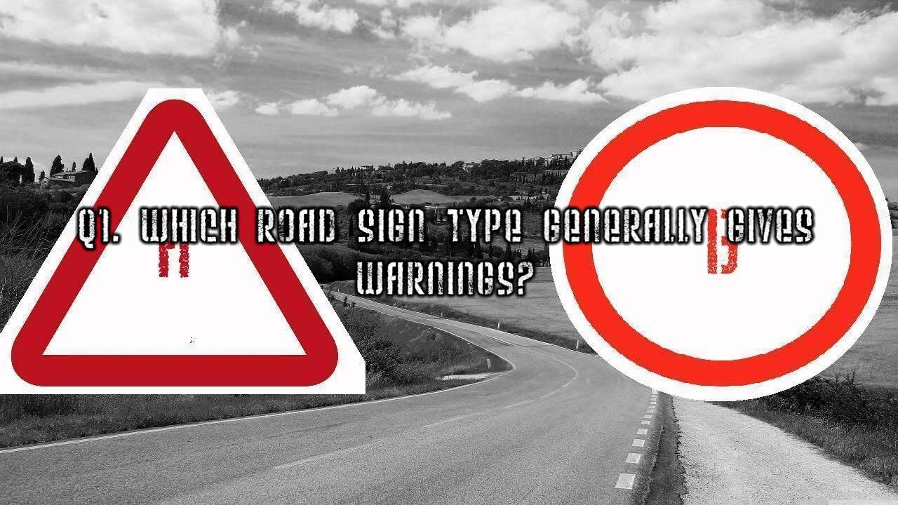 Road Signs For Driving Test Driving Test/road Sign Game