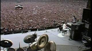 Queen 1985 Bohemian Rhapsody Radio Ga Ga Hammer To Fall Live Aid