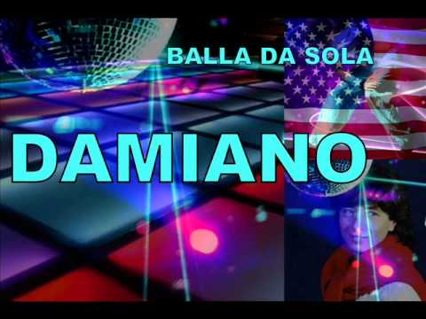 DAMIANO - BALLA DA SOLA - Italo disco dance music video performing