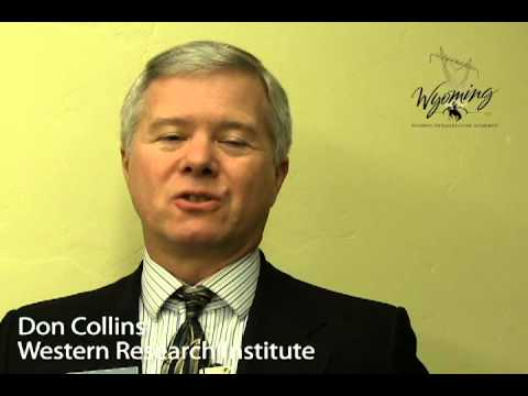 Western Research Institute's CEO Don Collins talks about the Microsoft Data Plant