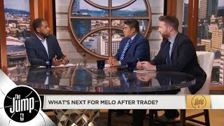Is Carmelo Anthony a Hall of Famer? | The Jump | ESPN