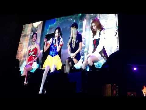 Wonder Girls Fan Party in Bangkok Trick & Greet - Sexy