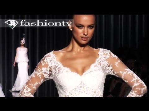 Pronovias 2012 Bridalwear Fashion Show ft Karolina Kurkova: La Nuit Blanche   FashionTV - FTV