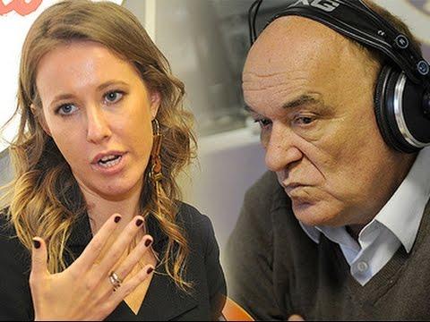 Ксения Собчак и Виктор Баранец: Две правды о войне на Украине