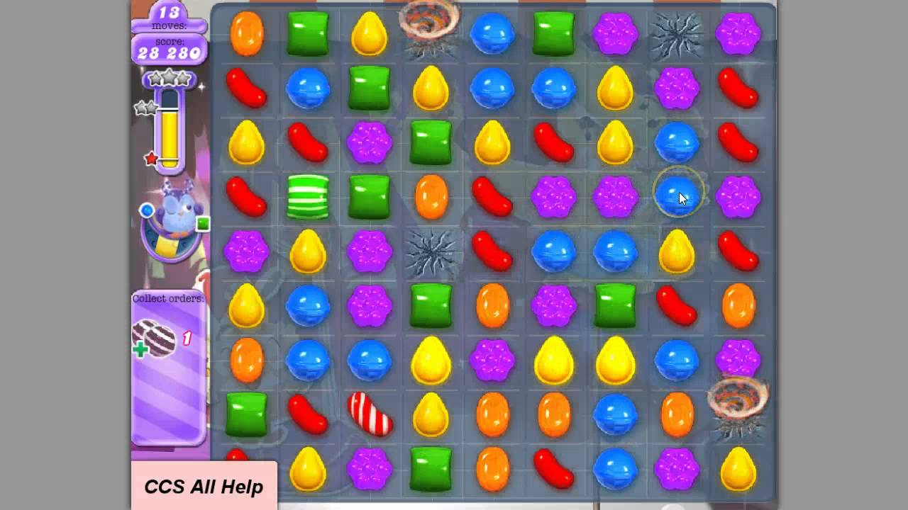 how to win level 412 candy crush