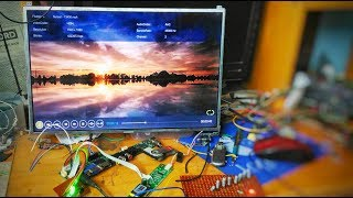 Turn your Broken Old Laptop into a TV or LCD Monitor in 30 minutes - DIY Tutorial