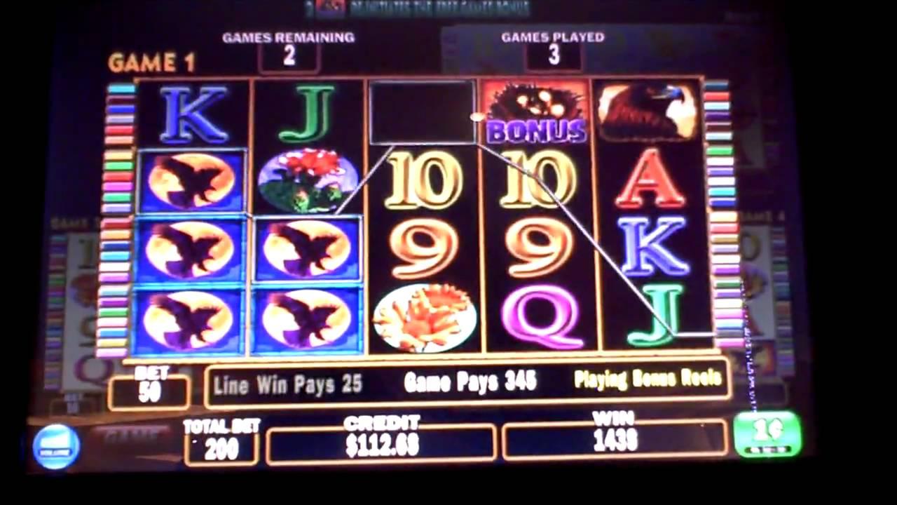 golden eagle slot machine