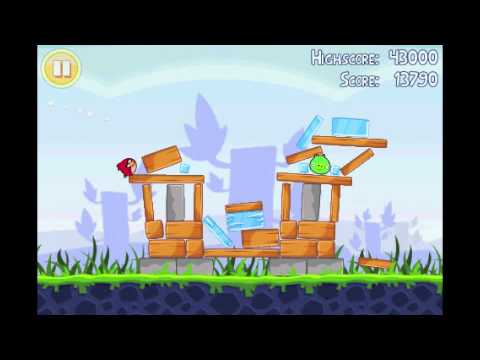Angry Birds Lite | 3 Star Walkthrough | Level 3