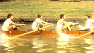 1971 MUBC Intervarsity 8 training