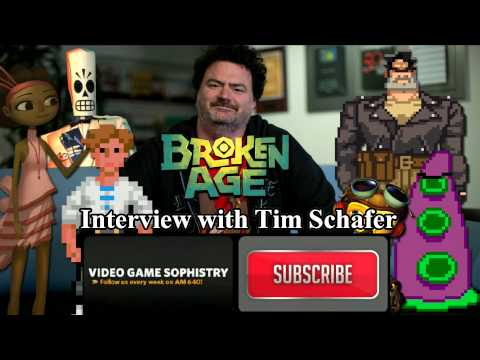 VGS Interview: Double Fine's Tim Schafer Talks Broken Age, Kickstarter and the Future of Gaming!