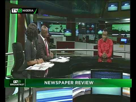 TVC Breakfast 28th May, 2018 | Newspaper Review