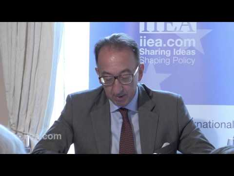 Jorge Domecq - The Role of the European Defence Agency - 13 July 2015
