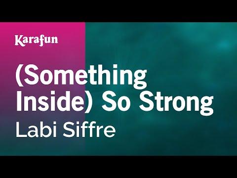 Karaoke (Something Inside) So Strong - Labi Siffre *