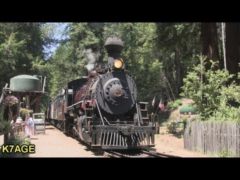 Skunk Train and Train Singer