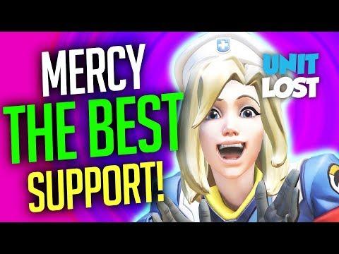 Overwatch - Mercy is the BEST Support Healer! Moira Meta Coming?