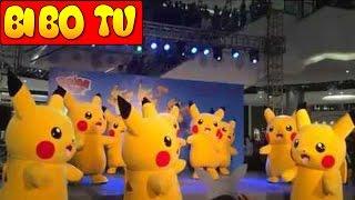 Pikachu Nhảy Rất Đẹp Và Đều Tại AEON MALL LONG BIÊN - Pikachu Dance Team In Ha Noi - ピカチュウダンス