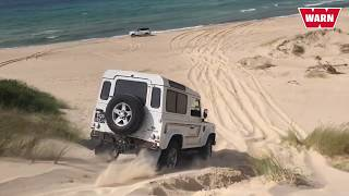 Land Rover Defender 90 Tunisia WARN