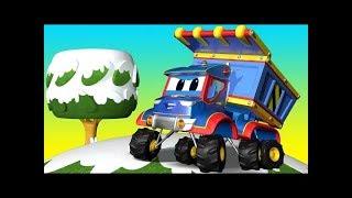 Truck and Mini #Excavator with Hydraulic Hammer | Street Vehicles for Baby | Maszyny Budowlane Kids