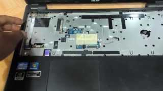 Acer Aspire V5 471 571 571g 471g How to replace the harddrive  keyboard dvdwriter