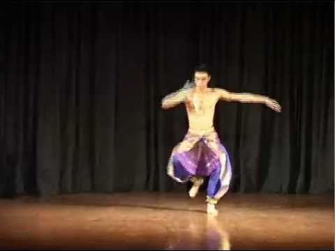 Shiva Tandava in Bharatanatyam by Revanta at the India Habitat Centre