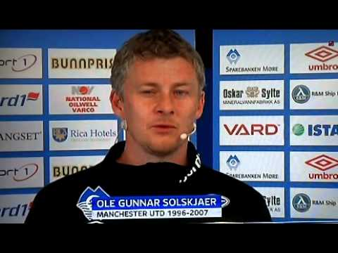 Ole Gunnar Solskjaer  Reaction To Sir Alex Ferguson's Retirement