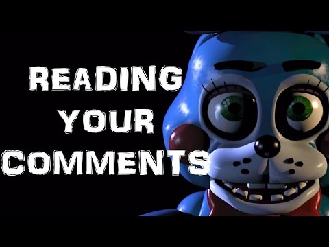 Will You Play Five Nights At Freddy's 2? | Reading Your Comments #41 video