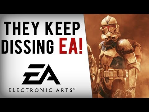 EA Dissed By Sony, CD Projekt, Bethesda, Blizzard & More Following Battlefront 2 Mess...