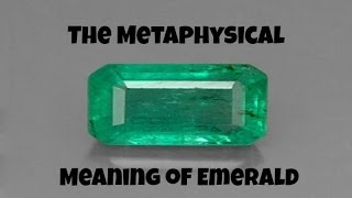 A True Sagittarius Birthstone for November: The Metaphysical Meaning of Emerald
