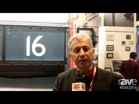 DSE 2016: Eink Displays 32 Inch London Bus Display Application