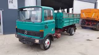 TRUCK MERCEDES-BENZ 813 4X2 TIPPER FIŠ TRUCKS & MACHINERY SLOVENIA