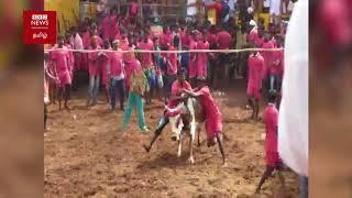 திருச்சி சூரியூரில் கோலாகலமாக நடந்து முடிந்த ஜல்லிக்கட்டு