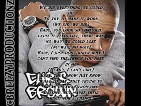 Chris Brown Just Fine Lyrics