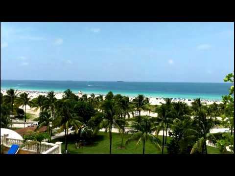 South Beach, Miami Florida.Vocation Tropical Paradise