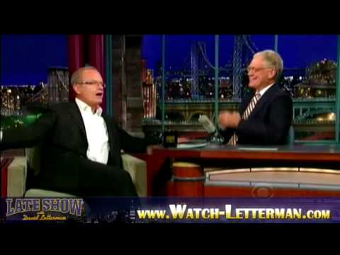 Kelsey Grammer on David Letterman Show - September 29, 2009 part 1
