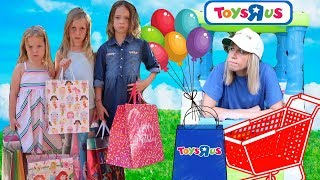 FAKE Toys R Us Store ~ Maya's Birthday Presents PRANK !!!