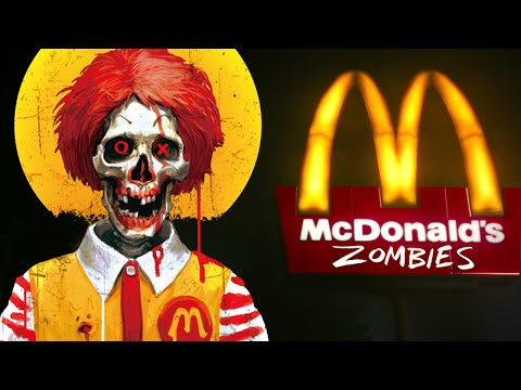 CRAZY McDONALD'S ZOMBIES ★ Call of Duty Zombies Mod