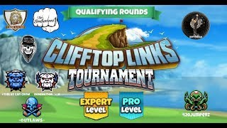 Golf Clash - Clifftop Links Tournament Pro & Expert Qualifying Round