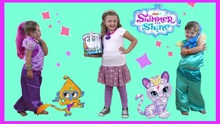 NEW Shimmer and Shine Videos | Shimmer and Shine 3 Wishes | Toys and Dress up video