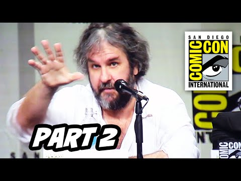 The Hobbit The Battle Of The Five Armies Comic Con 2014 Panel...