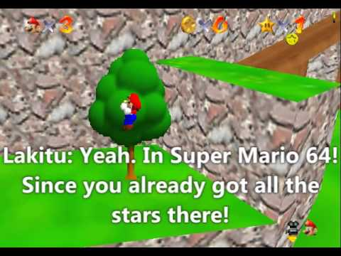 Super Mario Star Road Bloopers