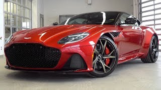 THIS Is The 2019 ASTON MARTIN DBS Superleggera in Hyper Red!!!