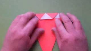 Simple Santa - Origami & Music By Nick Robinson