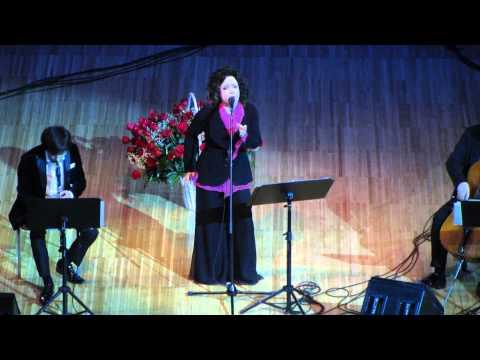 Antonella Ruggiero Cavallo bianco Moscow 06 12 2013