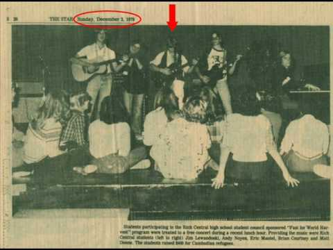 Eric Mantel (1979)  Benefit Concert for Cambodian Refugees / The Star Newspaper!