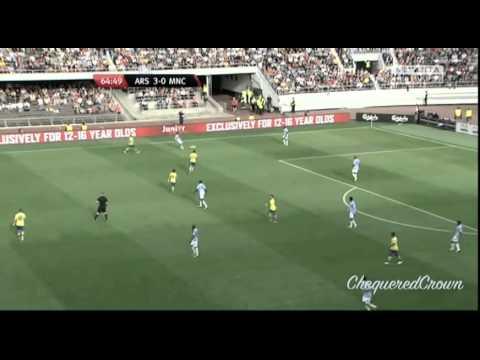 Jesús Navas vs Arsenal F.C. (Pre-season) [10.08.13] By ChequeredCrown