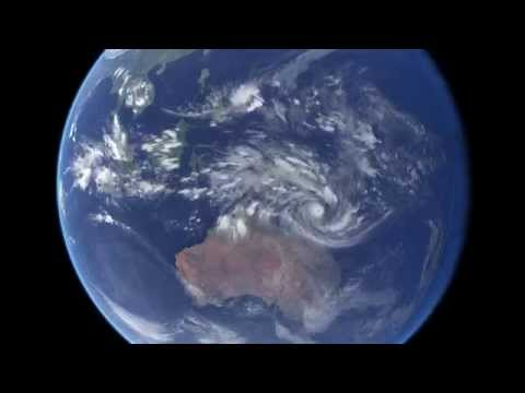 Cyclone Ita approaching Queensland, Australia