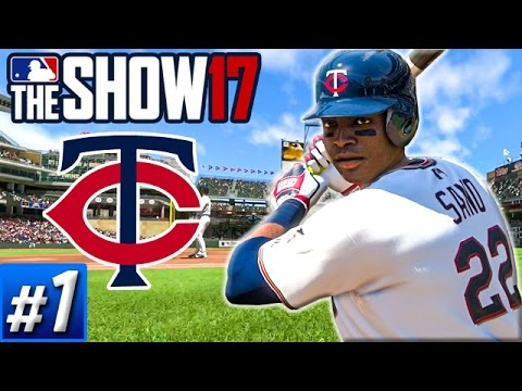 MLB The Show 17 Franchise Ep.1 - Welcome to Twins Territory