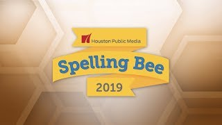 2019 Houston Public Media Spelling Bee - Final Rounds